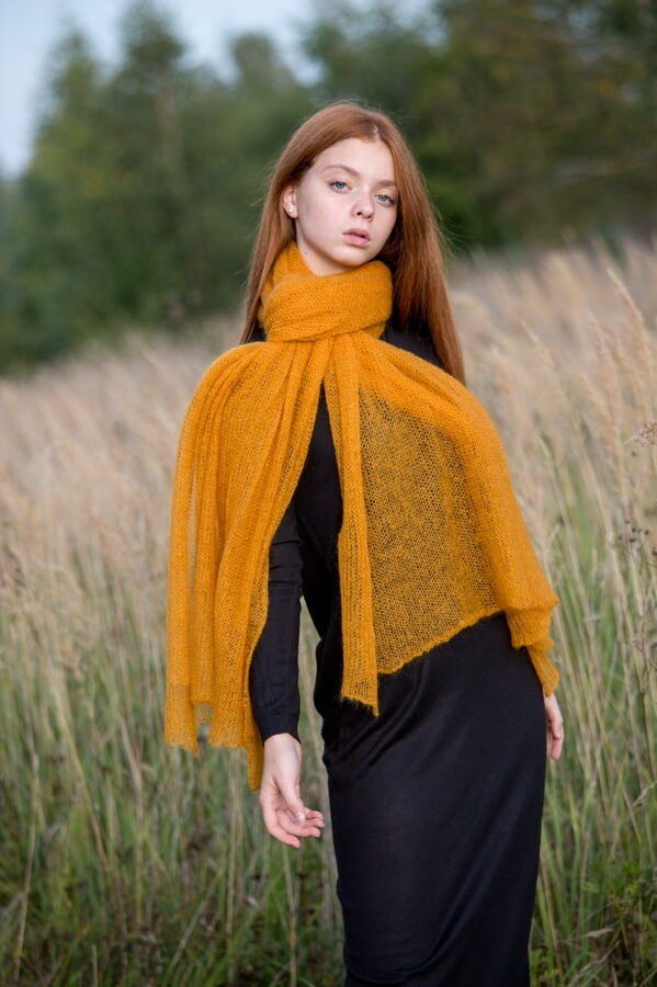 mohair wool shawl only 29 €
