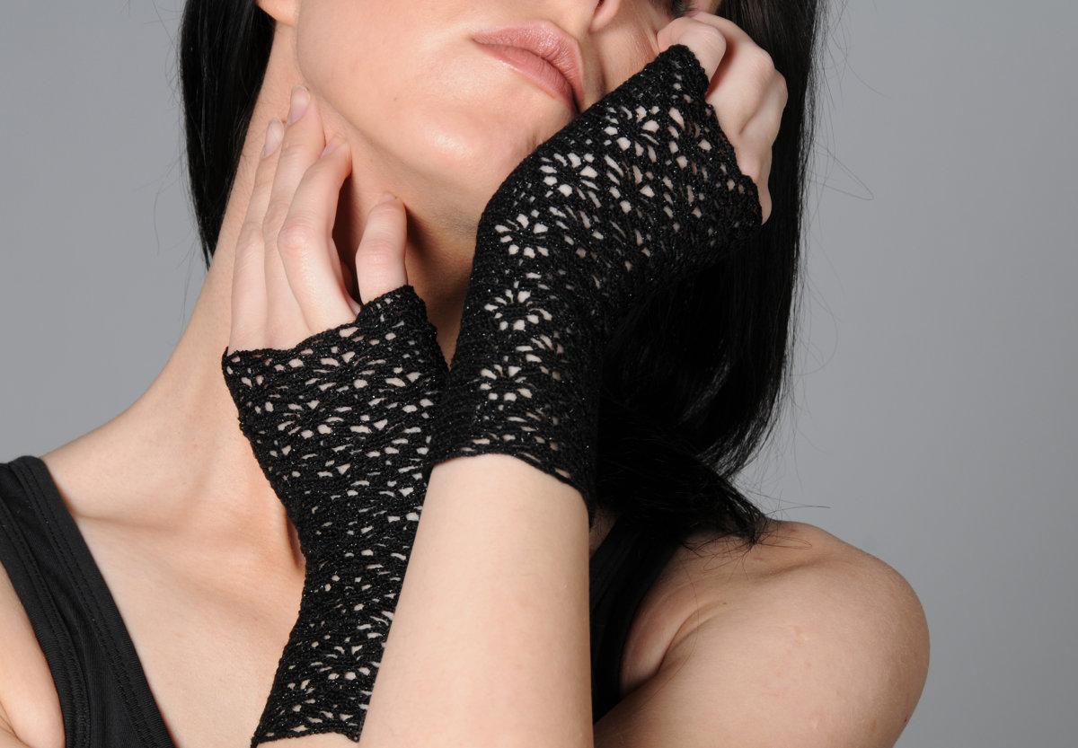 hand-crocheted wristlets