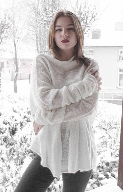 modis OVERSIZE sweater